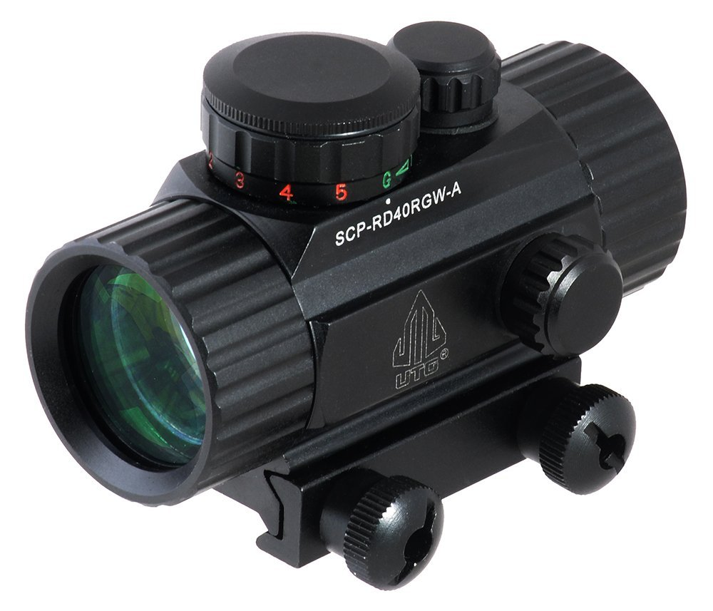 UTG New Gen 4-Inch 1X30 Red/Green Dot Sight