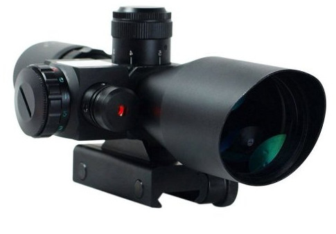 Freehawk® 2.5-10x40 Tactical Rifle Scope