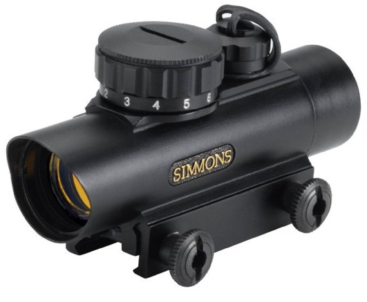 Simmons RedDot 1x 20mm 5-MOA Dot, Red Illuminated Scope