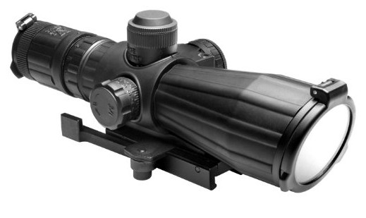 NcSTAR SRT Series 3-9x42 Rubber Compact Scope