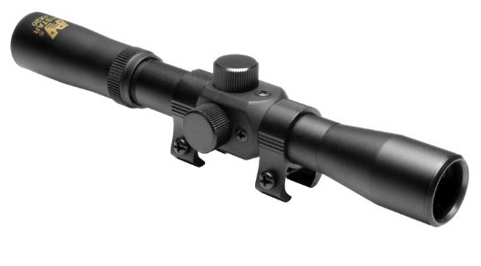 NcStar 4X20 Compact Air Scope/Blue Lens (SCA420B)