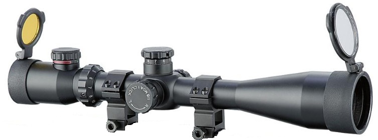 Osprey™ 4 - 16x50 mm IRF Tactical Scope Matte Black