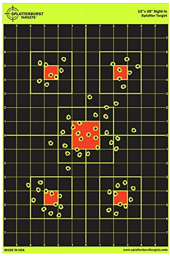 12x18 Sight In Splatterburst Target