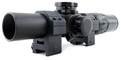 Monstrum Tactical 1-6x24 first focal plane (FFP) Riflescope